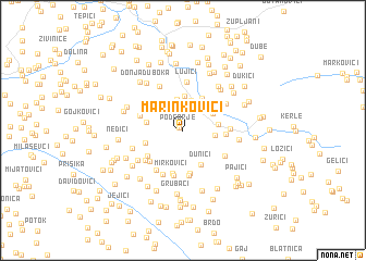 map of Marinkovići