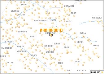 map of Marinkovići