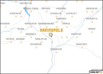 map of Marino Pole