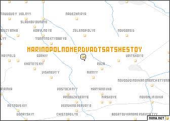 map of Marinopol' Nomer Dvadtsat' Shestoy