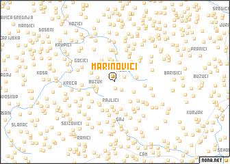 map of Marinovići
