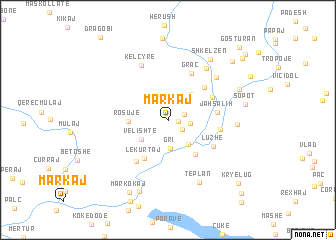 map of Markaj