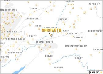 map of Markeeta