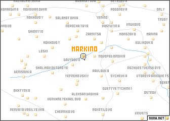 map of Markino