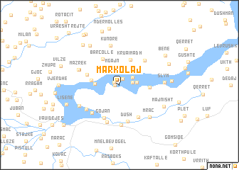 map of Markolaj