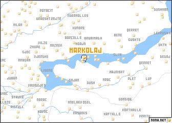 map of Markolaj