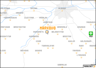 map of Markovo