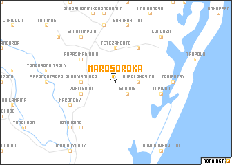 map of Marosoroka