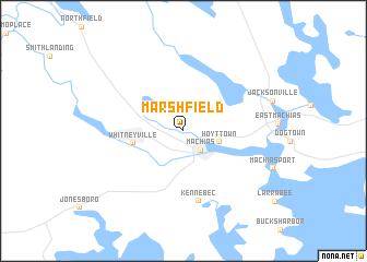 map of Marshfield