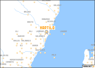 map of Martilo