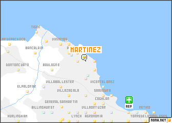Martnez Argentina map nonanet