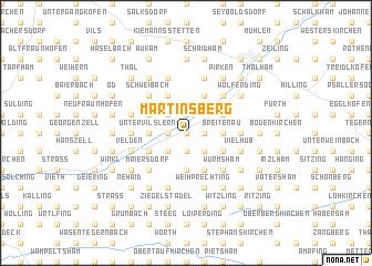 map of Martinsberg