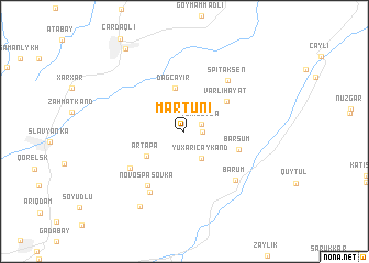 map of Martuni