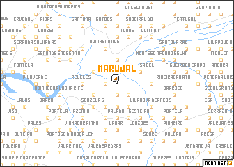 map of Marujal