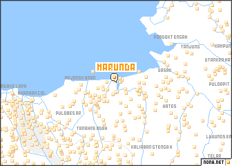 map of Marunda