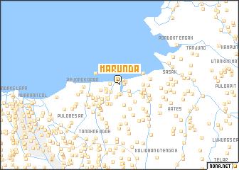 map of Marunda