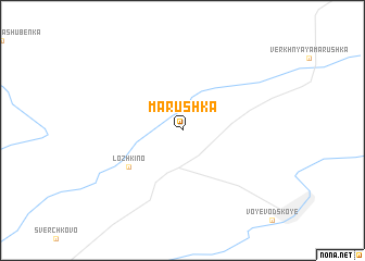 map of Marushka