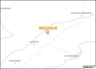 map of Marushka