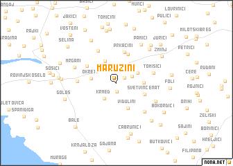 map of Maružini