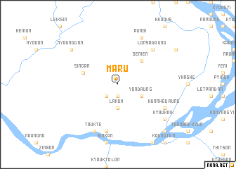 map of Maru