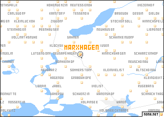 map of Marxhagen