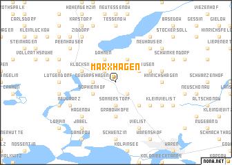 map of Marxhagen