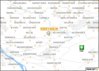 map of Marxheim