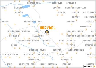 map of Marydół