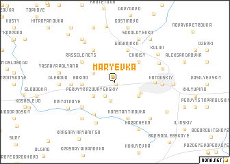map of Mar\