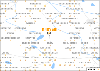 map of Marysin