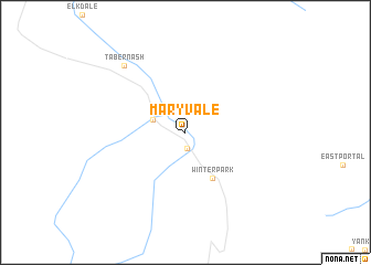 map of Maryvale