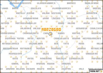 map of Marzagão