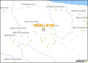 map of Masallātah