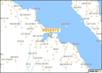 Masbate Philippines Map.Masbate Philippines Map Nona Net
