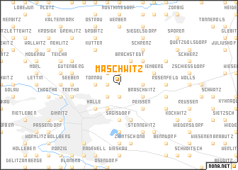 map of Maschwitz