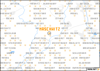 map of Maschwitz