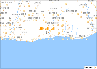 map of Masingin