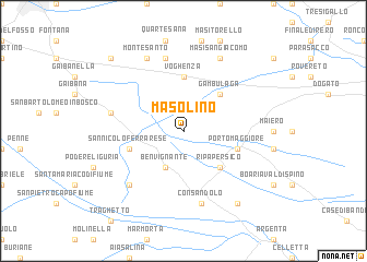 map of Masolino