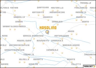 map of Masolino