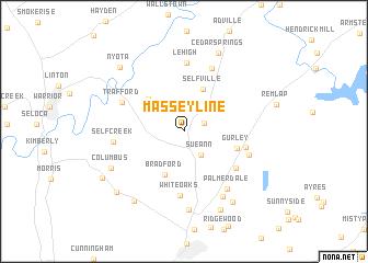 map of Masseyline