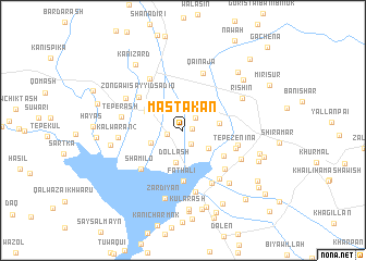 map of Mastakān