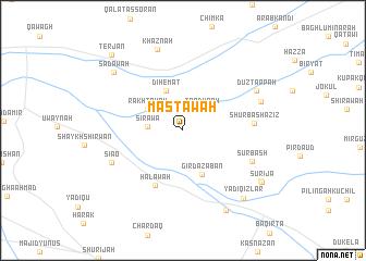 map of Mastāwah