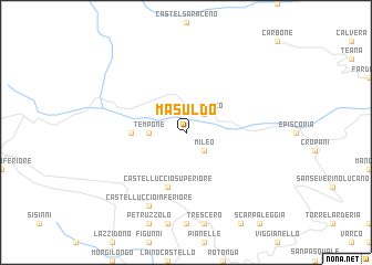 map of Masuldo