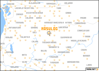 map of Masulog