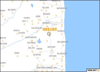 map of Maşxan