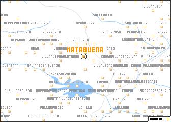 map of Matabuena