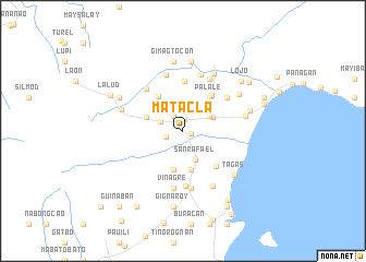 map of Matacla