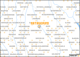 map of Mata de Piro