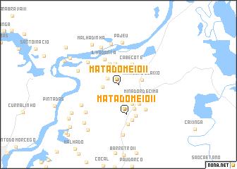 map of Mata do Meio II