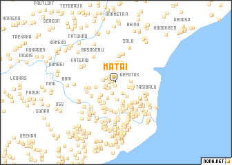 map of Matai